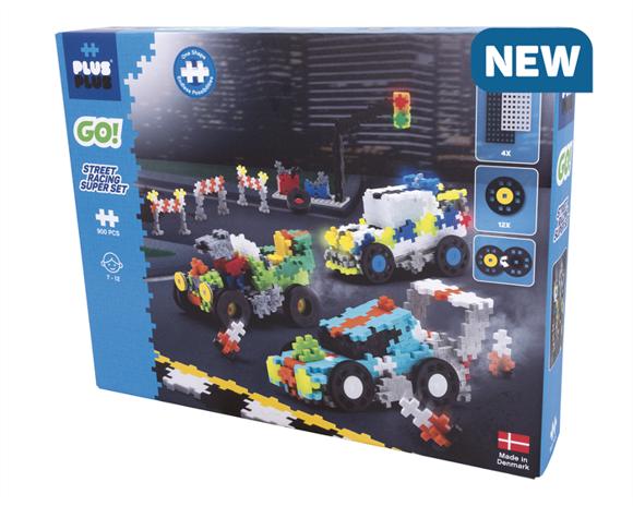 Plus-Plus Go - Streetracing Super Set (7010)