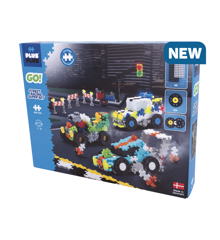 Plus-Plus Go - Streetracing Supersæt (7010)