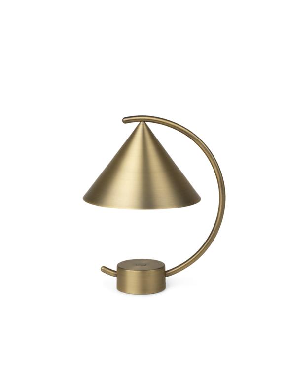 Ferm Living - Meridian Lamp - Brass (110177501)
