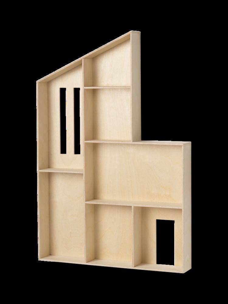 Ferm Living - Shelf Miniature Funkis House - Natural (1102112038)