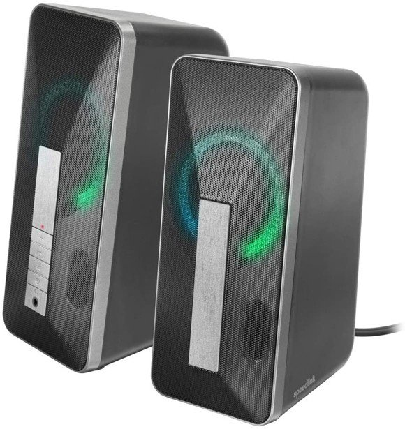 Speedlink - Lavel Stereo Speaker - 3.5mm Stereo Jack/Bluetooth