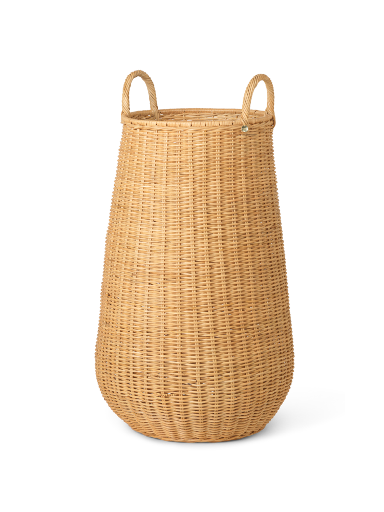 Ferm Living - Braided Laundry Basket - Natural (1104263208)