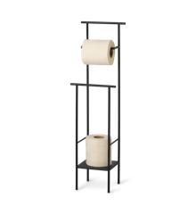 Ferm Living - Dora Toilet Paper Stand - Black (1104263262)