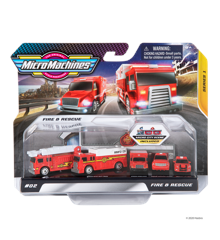 Micro Machines - World Pack - Fire and Rescue