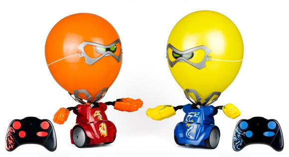 Silverlit - Balloon Puncher Twin Pack - Red/Blue (88039)