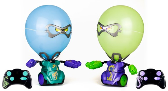 Silverlit - Balloon Puncher Twin Pack - Purple/Green (88040)