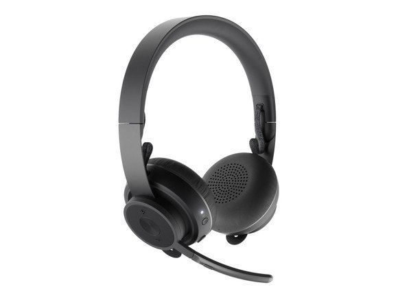 Logitech - Zone Wireless Teams Bluetooth headset - GRAPHITE