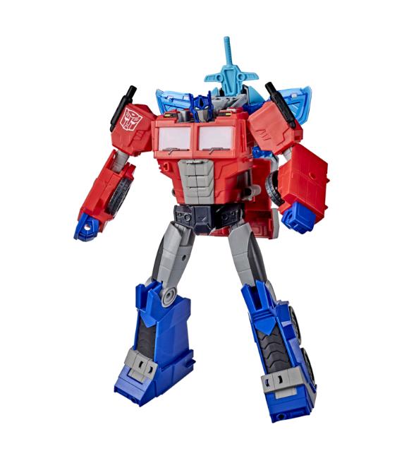 Transformers - Cyberverse Battle Call Officer Class - Optimus Prime (E8380)