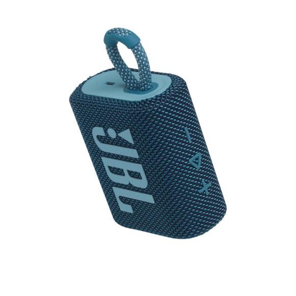 JBL - GO 3 Portable Waterproof Bluetooth Speaker - New Version