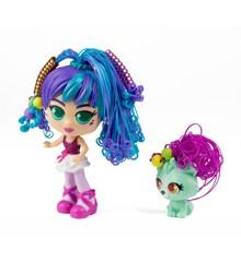 Silverlit - Curli girls Doll and Pet Deluxe Set - Rosli with Koda