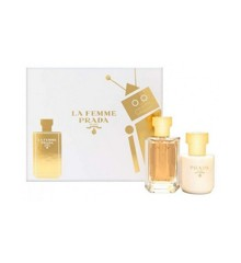 Prada - La Femme Prada EDP 100 ml + Body Lotion 100 ml - Giftset