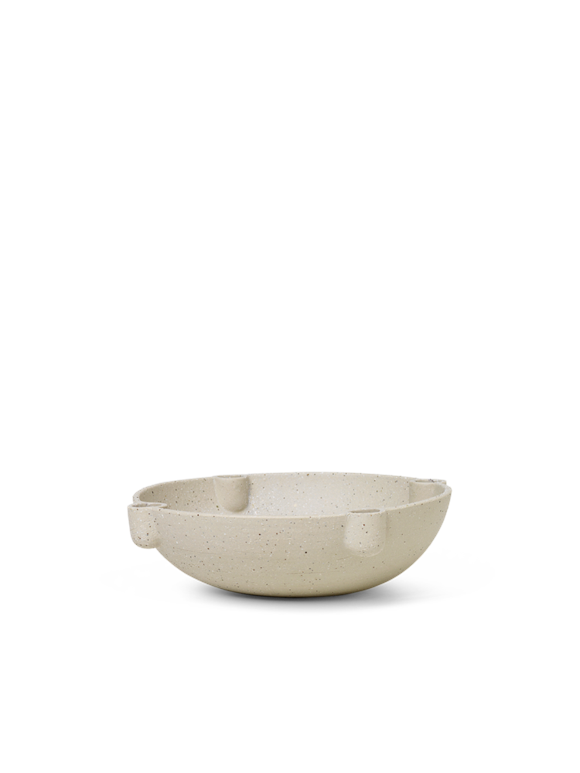 Ferm Living - Bowl Candle Holder - Ceramic (1104263131)