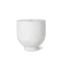 Ferm Living - Alza Champagnekøler - Marmor Hvid