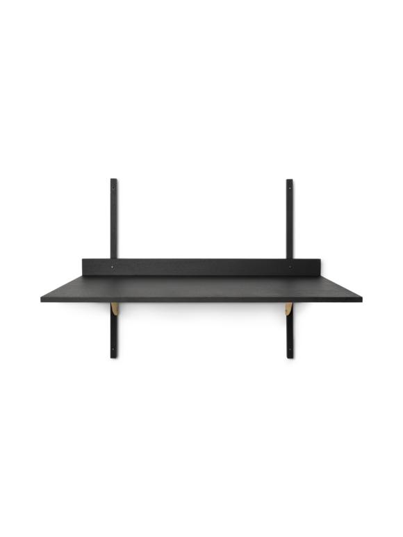 Ferm Living - Sector Desk - Black Ash/Brass (1104263248)