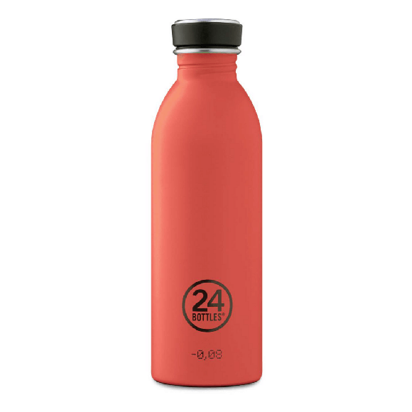 24 Bottles - Urban Bottle 0,5 L - Stone Finish - Pachino