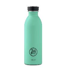 24 Bottles - Urban Bottle 0,5 L - Stone Finish - Mint (24B702)