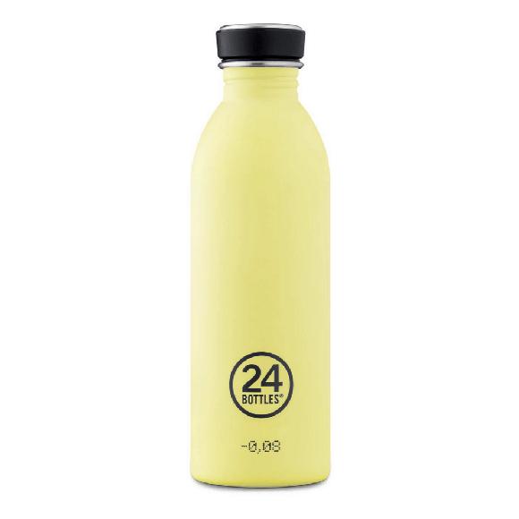 24 Bottles - Urban Bottle 0,5 L - Stone Finish - Citrus (24B701)