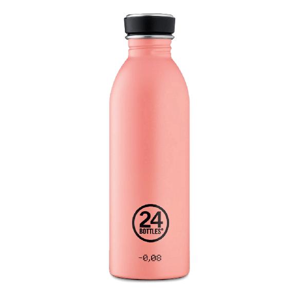 24 Bottles - Urban Bottle 0,5 L - Stone Finish - Blush Rose (24B705)