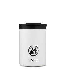 24 Bottles - Travel Tumbler 0,35 L - Ice White
