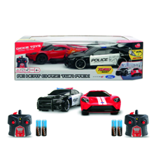 Jada - R/C Twin Pack - 2015 Dodge Challenger & 2017 Ford GT 2.4GHz (251109002)