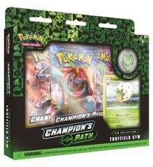 Pokemon - Pin Box Champions Path - Sword & Shield - Turffield Gym (POK80484A)
