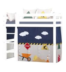 Hoppekids - Forhæng til Mellemhøj seng 70×160 cm - Construction