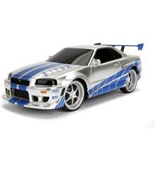 Jada - Fast&Furious - R/C Nissan Skyline GTR 1:24 2.4GHz (253203018)