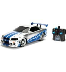 Jada - Fast&Furious - R/C Nissan Skyline GTR 1:16 2,4GHz (253206007)
