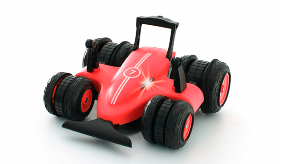 Sharper Image - RC Spin Drifter 360° - Matte Red (50-00097)