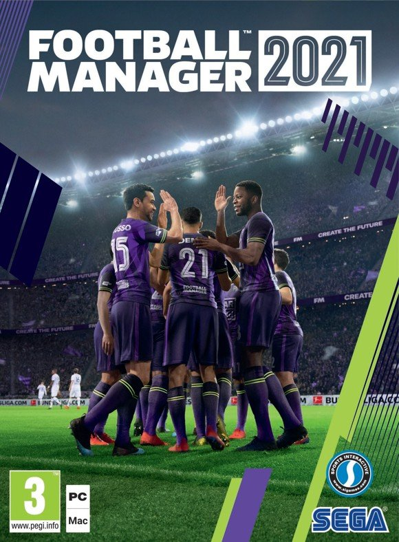 Football Manager 2021 (Code via Email)
