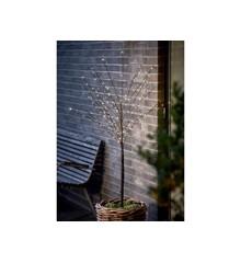 Scandinavia Light - LED Træ  45 x 45 x 180 cm - Sort