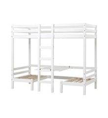 Hoppekids - BASIC JUMBO Bunkbed w. Table Top 90×200 cm