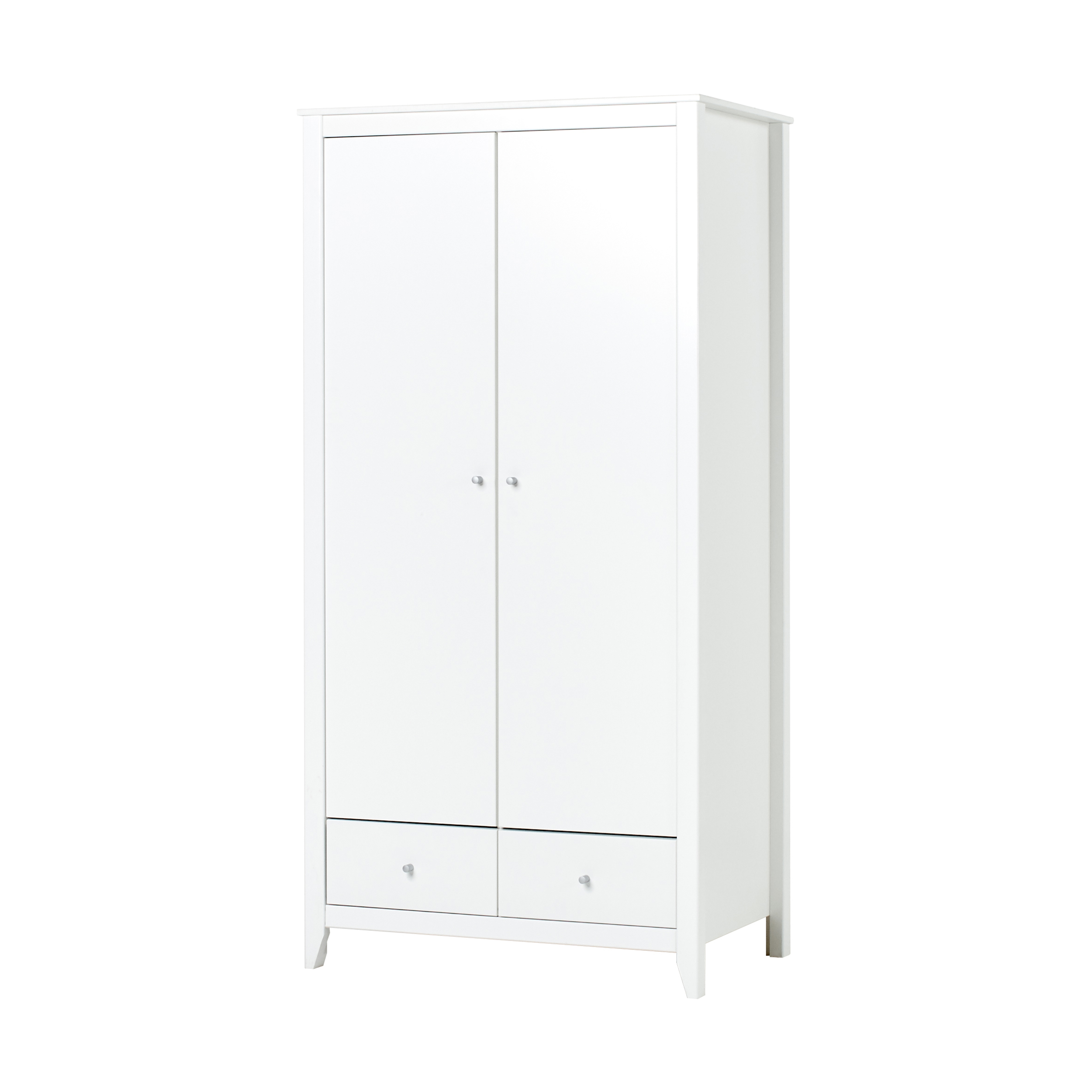 Hoppekids - Wardrobe w. 2 Doors & 2 Drawers