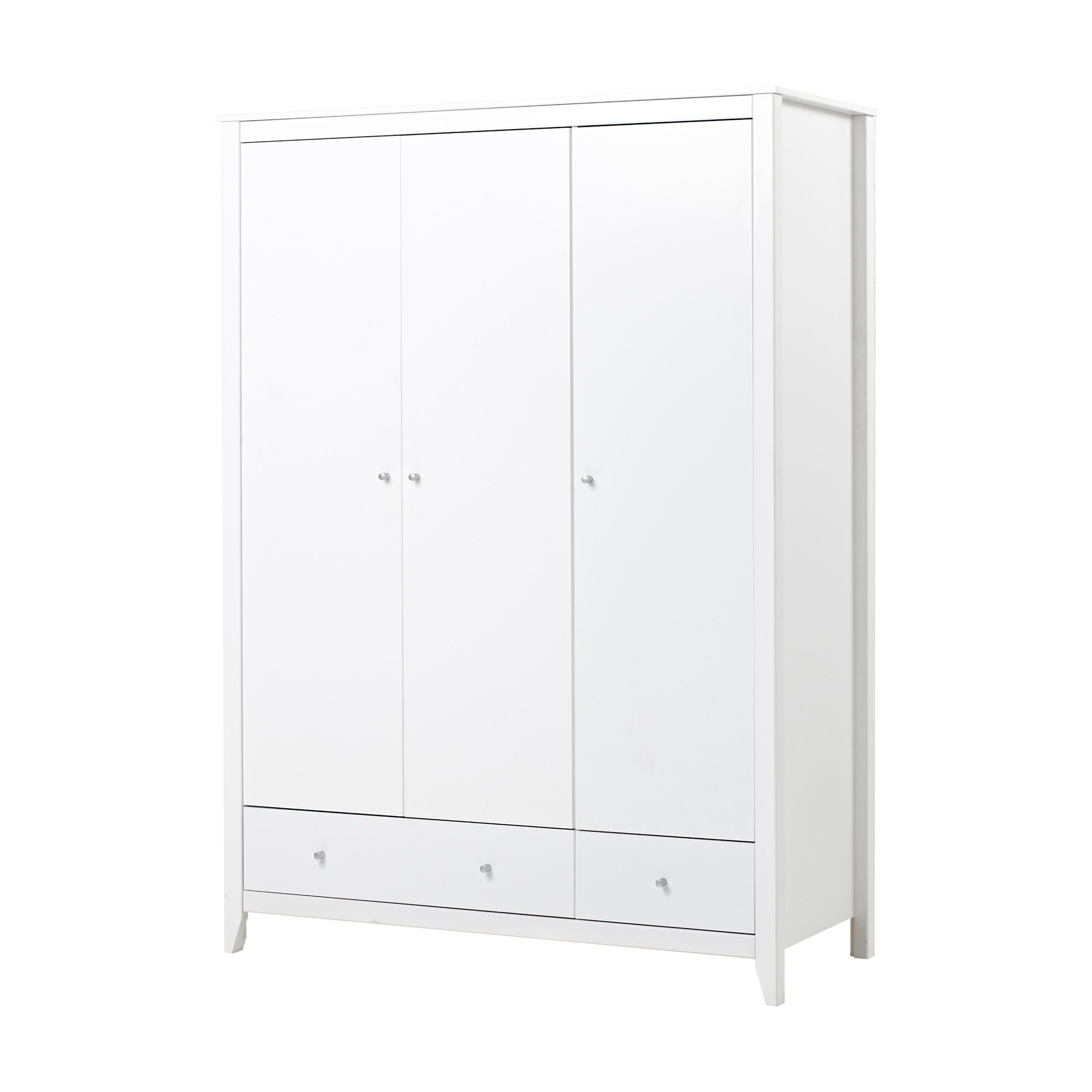 Hoppekids - Wardrobe w. 3 Doors & 2 Drawers