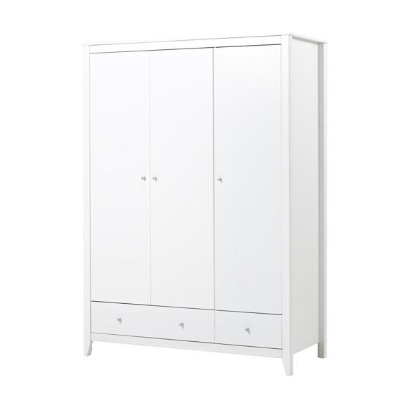 Hoppekids - Wardrobe w. 3 Doors & 2 Drawers