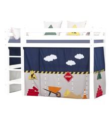 Hoppekids - Play Curtain Mid-High Bed 90x200 cm - Construction