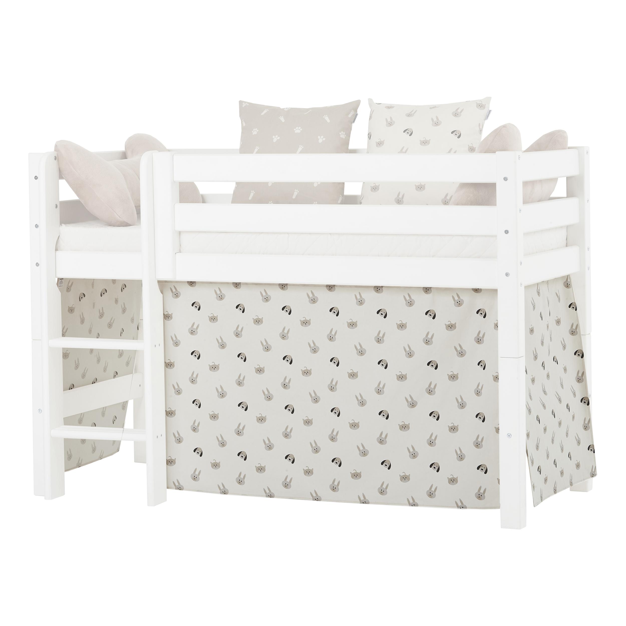 Hoppekids - Play Curtain Half-High Bed 70x160 cm - Pets Pristine