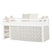 Hoppekids - Play Curtain Half-High Bed 90x200 cm - Pets Pristine