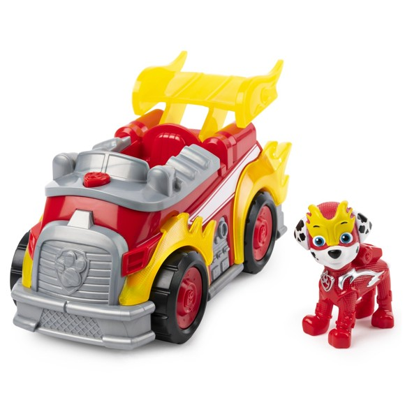 Paw Patrol - Mighty Pups Super PAWs Deluxe Vehicle - Marshall