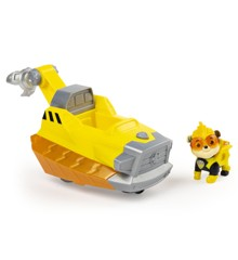 Paw Patrol - Mighty Pups Super PAWs Deluxe Vehicle - Rubble
