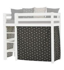 Hoppekids - Forhæng til Mellemhøj seng 70×160 cm - Pets Granite Grey