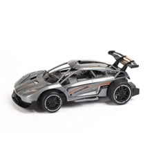 TechToys - Necromancer on road metal R/C 1:16 2,4GHz - Grey (520607)