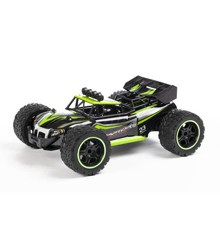 """TechToys - Buggy 1:14 2,4 GHz R/C Fjernstyret Bil """"Raptor"""" + USB - Grøn"""