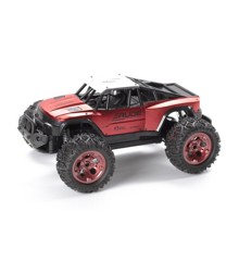 TechToys - Rude Off-Road 1:12 2,4GHz R/C Metallic - Red (534614)