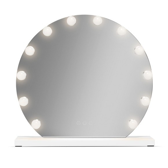 Gillian Jones - Mega Hollywood Spejl m. LED Lys