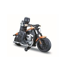 Maisto - Harley Davidson R/C with Rider 27/40Mhz - Orange (140012)