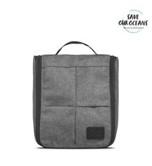 Vittorio - Hang-up Washbag in Grey