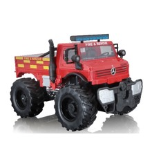 Maisto - M-B U5000 Unimog (Fire Rescue) R/C 1:16 27Mhz  (140031)