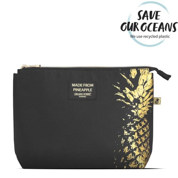 Gillian Jones - Cosmetic Bag in Black