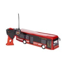 Maisto - City Bus R/C 33cm 27Mhz - Red (140040)